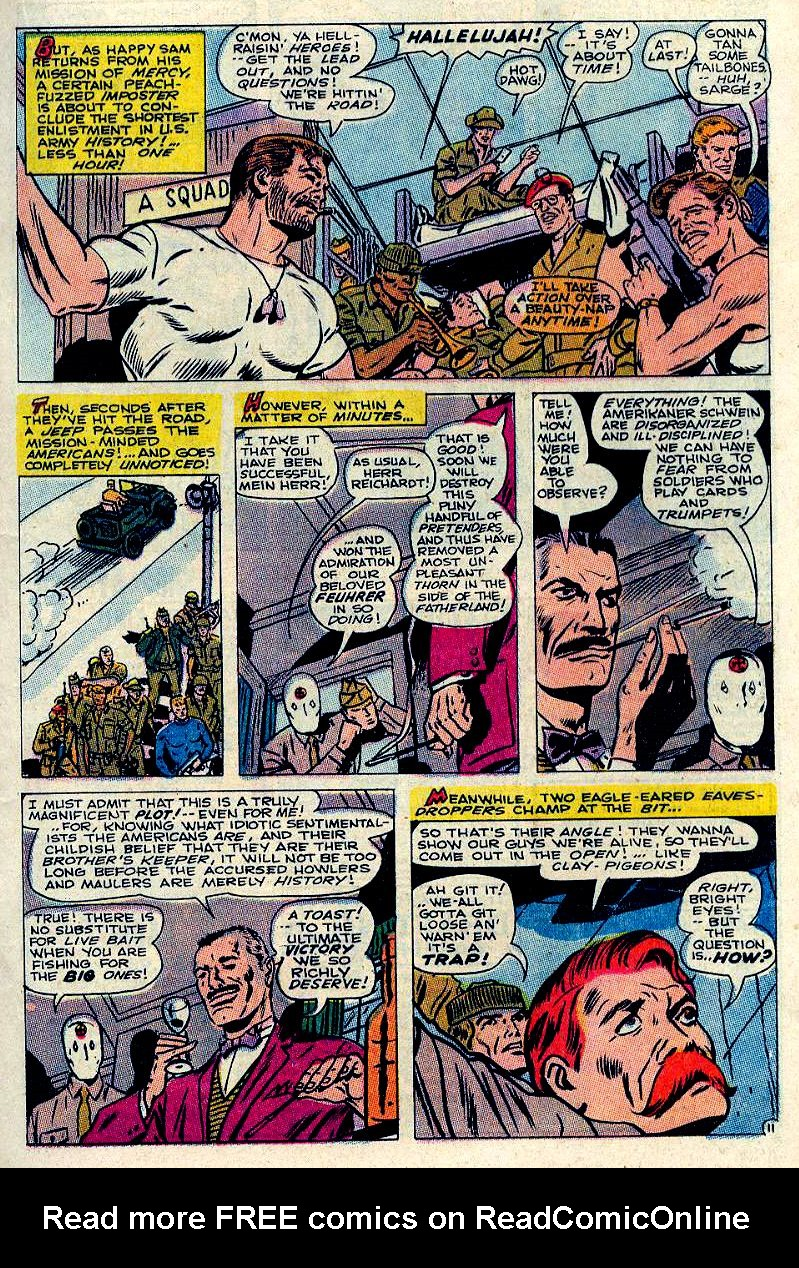 Read online Sgt. Fury comic -  Issue #84 - 17