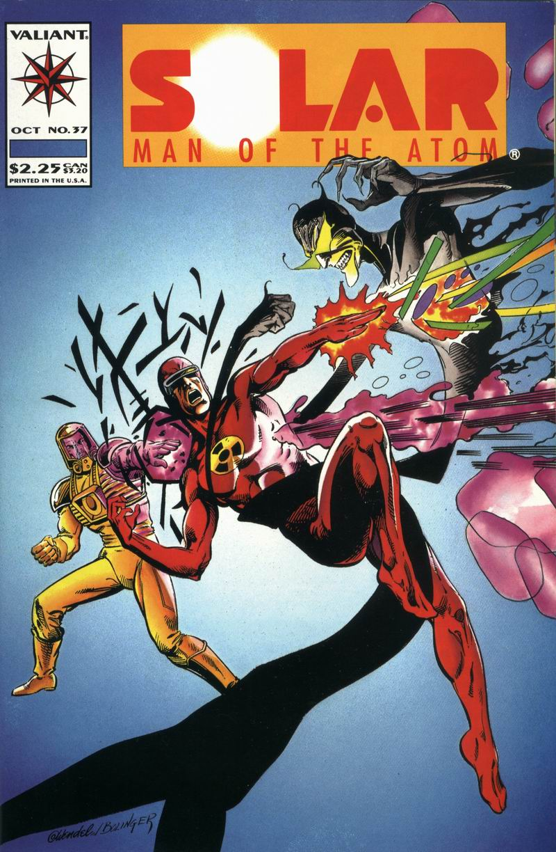 Read online Solar, Man of the Atom comic -  Issue #37 - 1