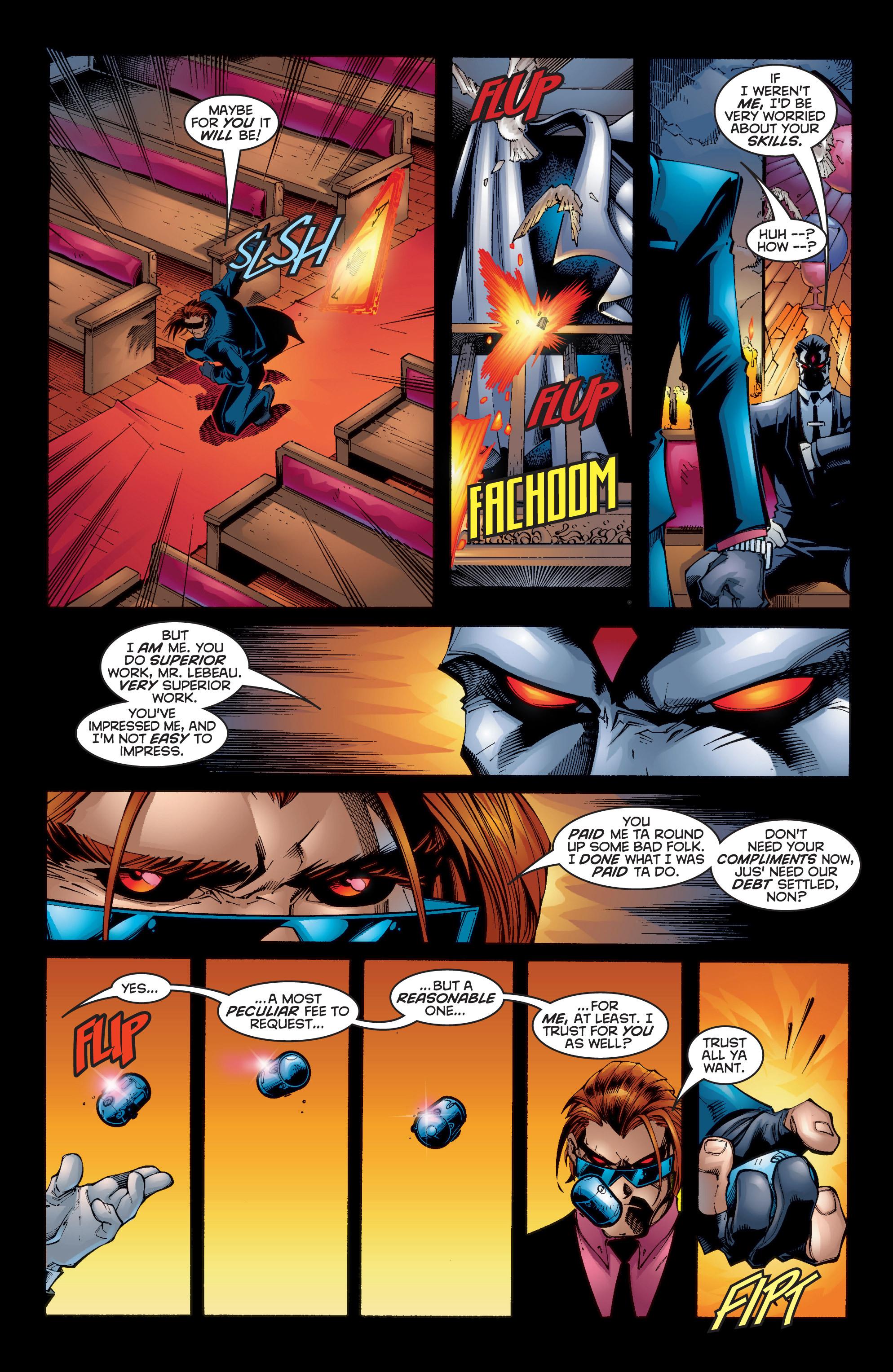 Read online Uncanny X-Men (1963) comic -  Issue #350 - 5