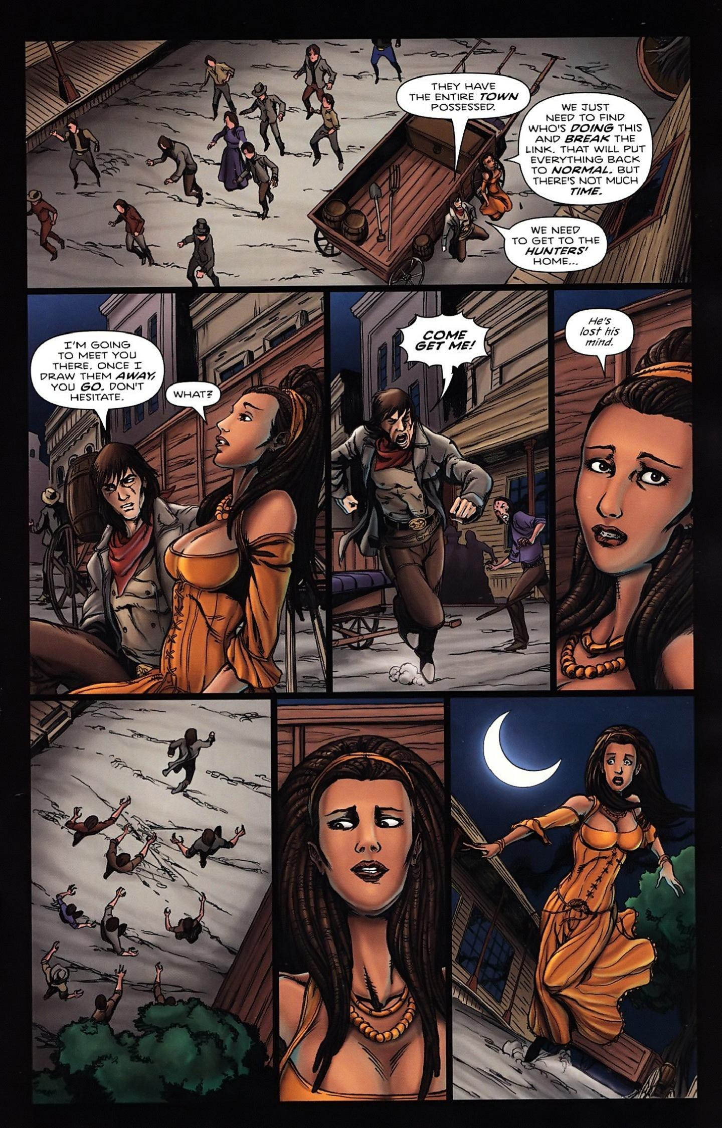 Read online Salem's Daughter: The Haunting comic -  Issue #5 - 9