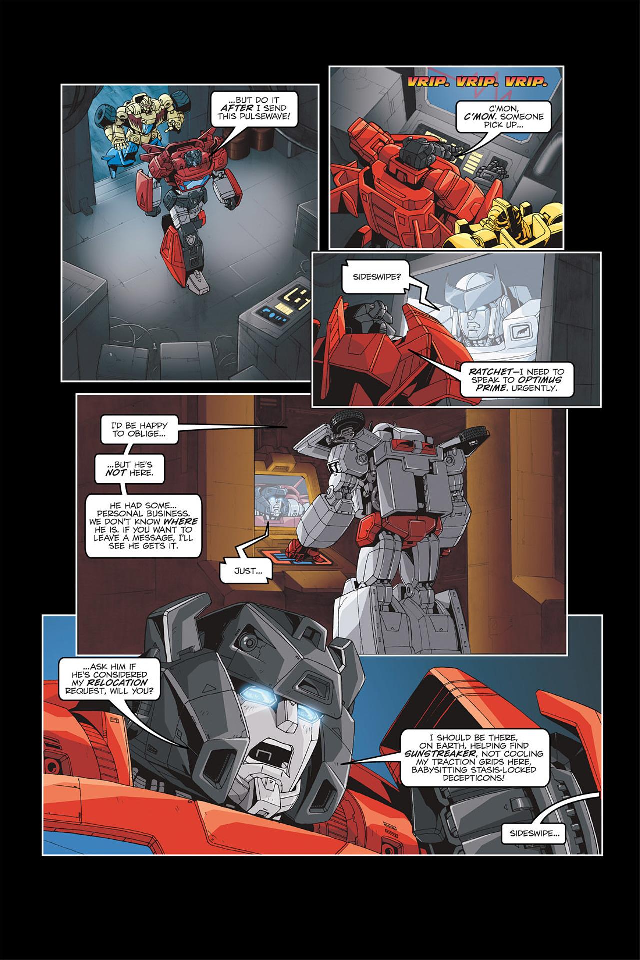 Read online Transformers Spotlight: Galvatron comic -  Issue # Full - 11