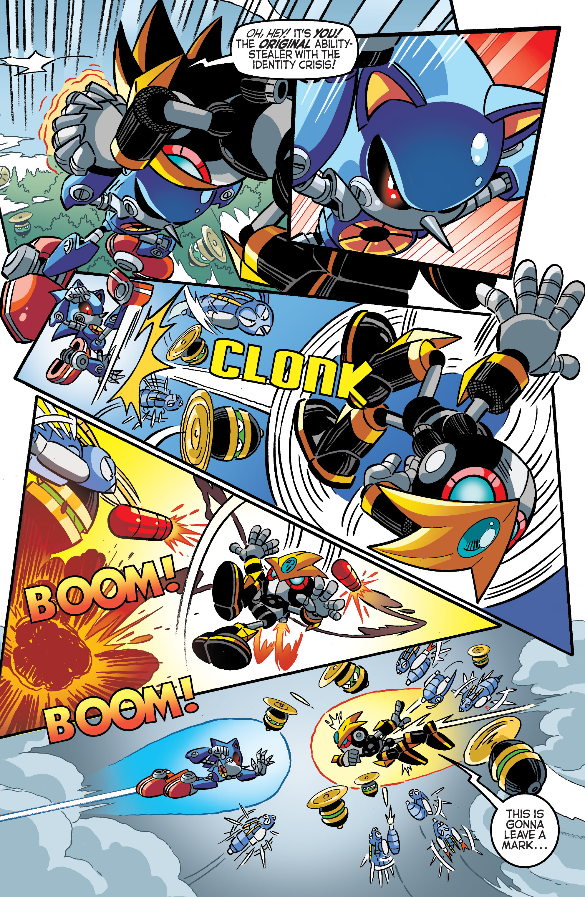 Read online Sonic The Hedgehog comic -  Issue #284 - 10