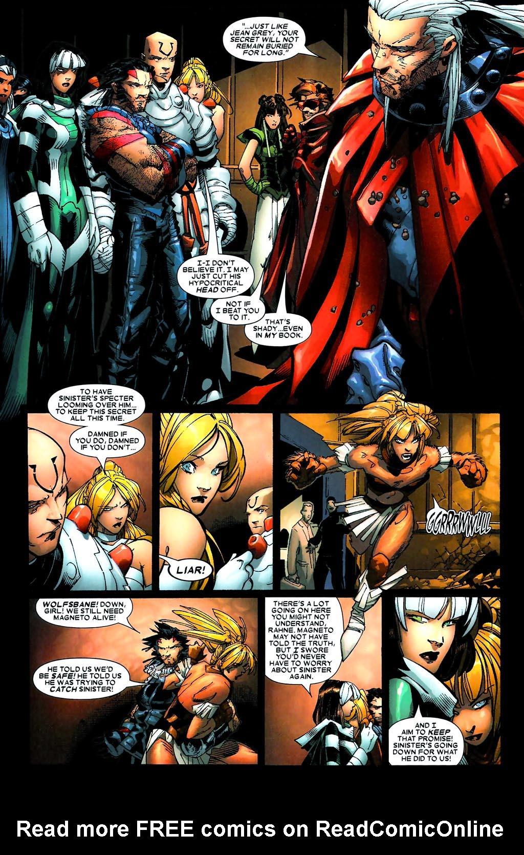Read online Age of Apocalypse (2005) comic -  Issue #5 - 15