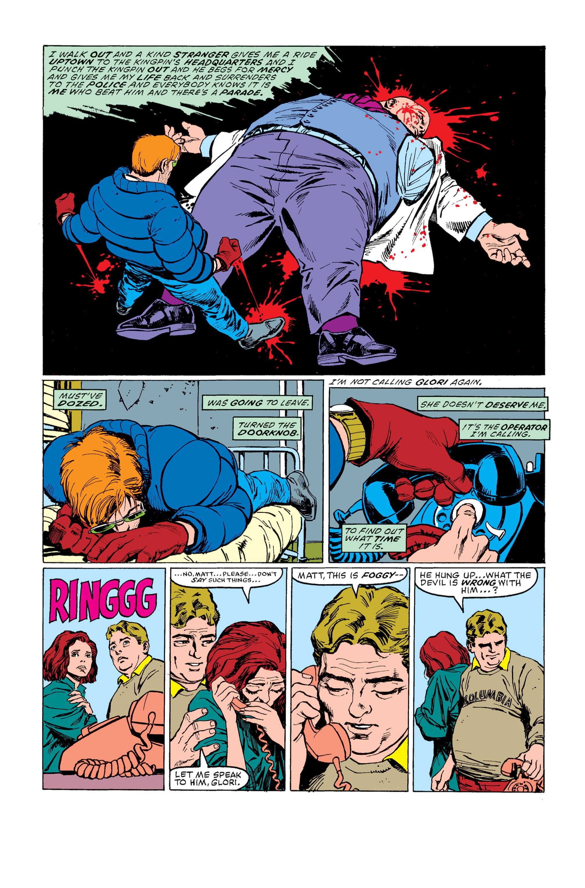 Read online Daredevil: Born Again comic -  Issue # Full - 60