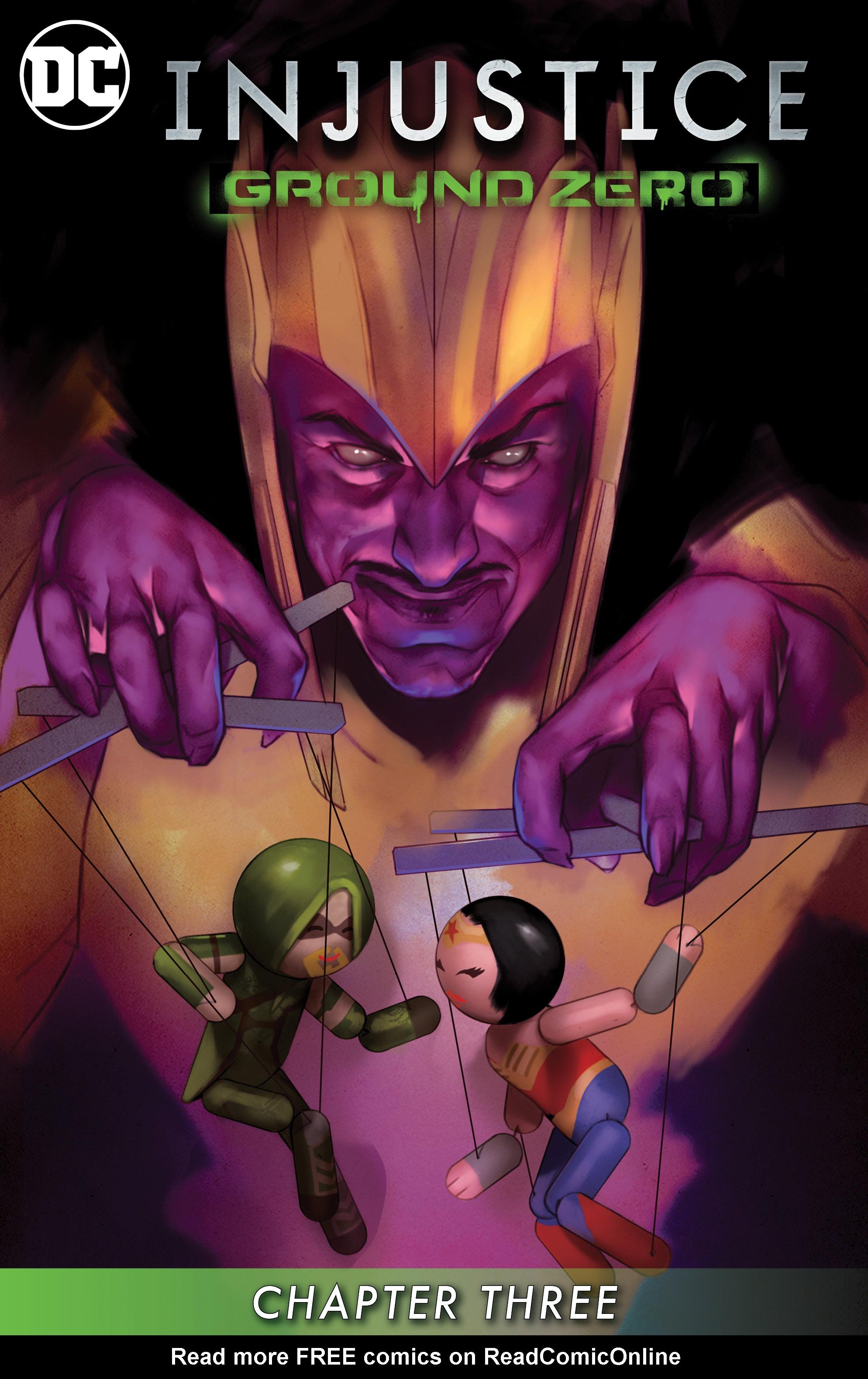 Read online Injustice: Ground Zero comic -  Issue #3 - 2