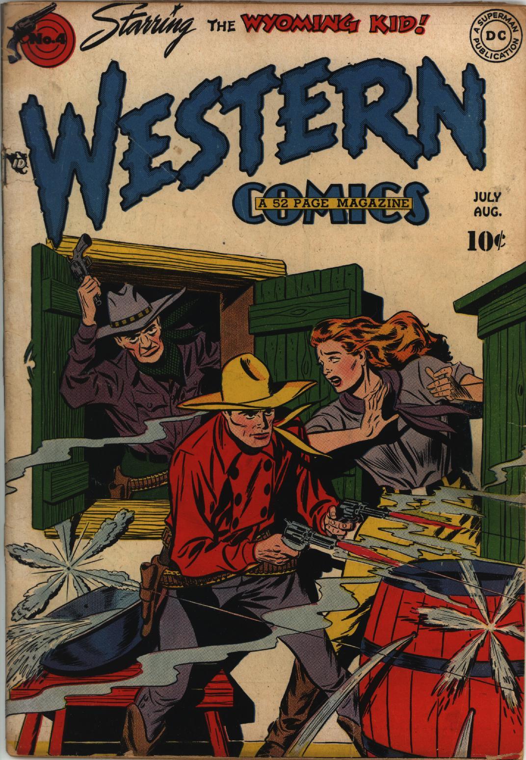 Western Comics 4 Page 1