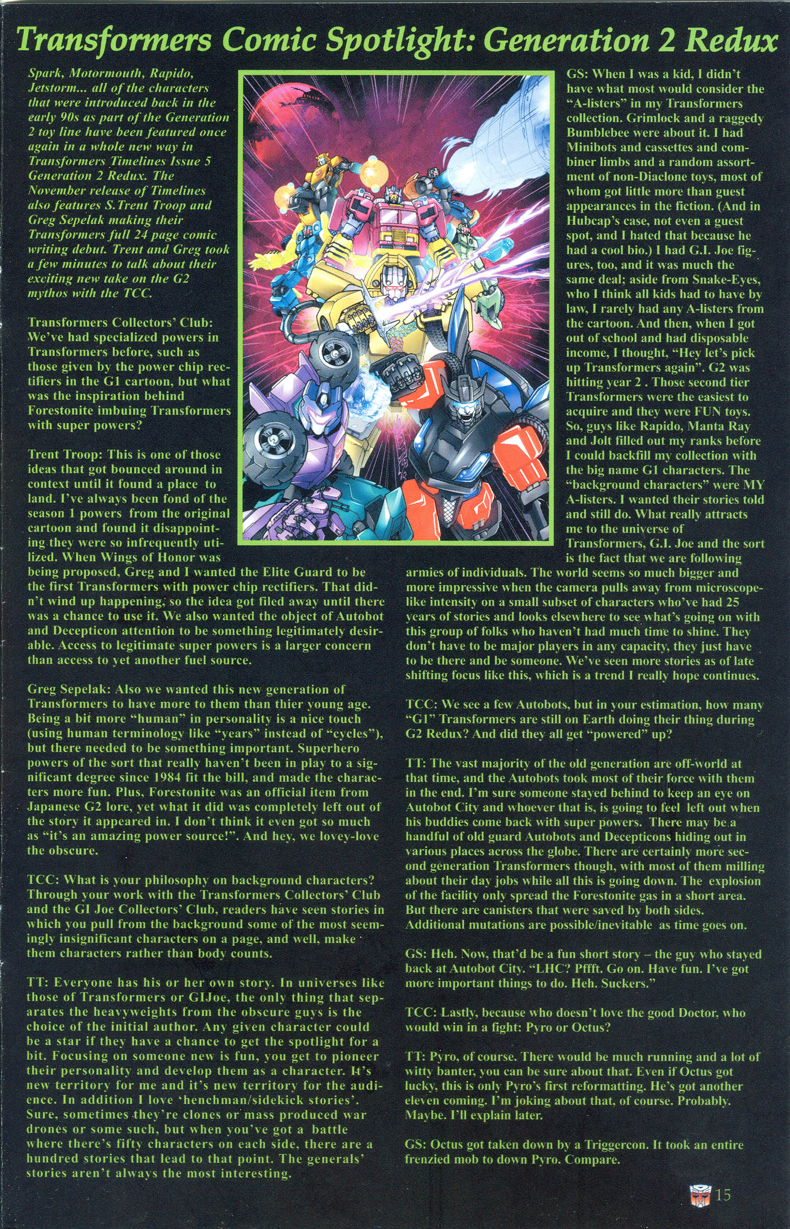 Read online Transformers: Collectors' Club comic -  Issue #36 - 15