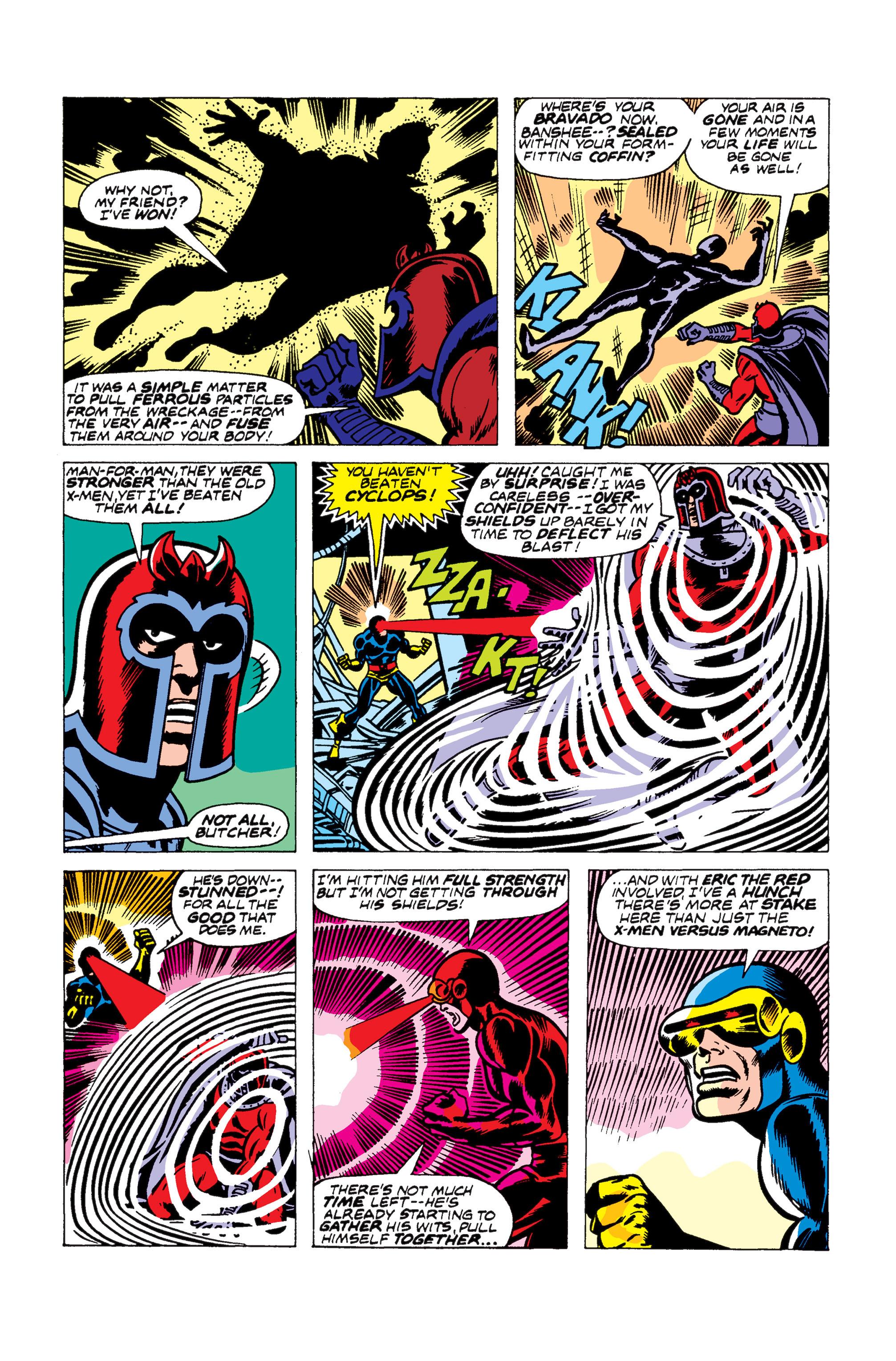 Read online Uncanny X-Men (1963) comic -  Issue #104 - 14
