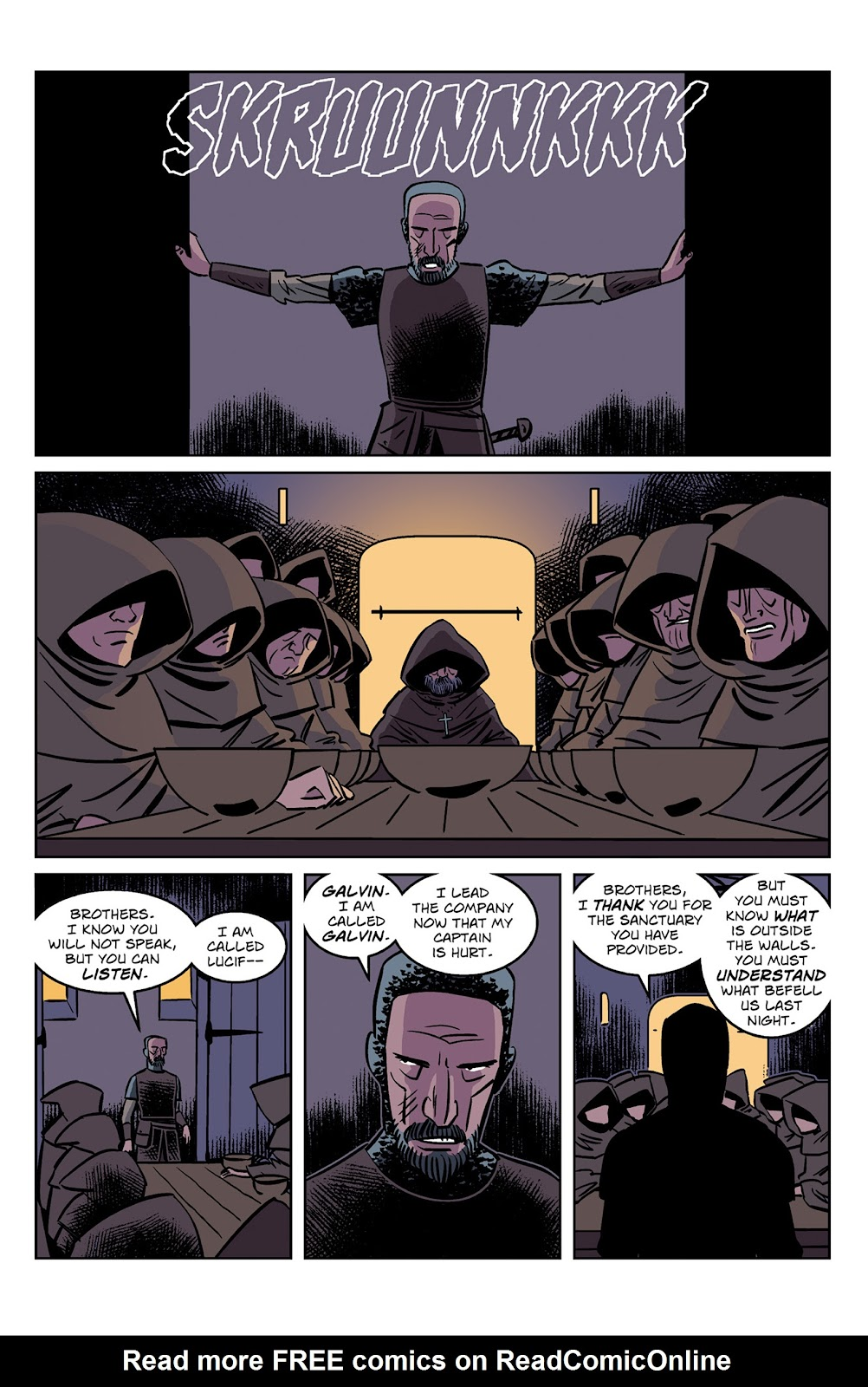 Read online Dark Ages comic -  Issue #2 - 10