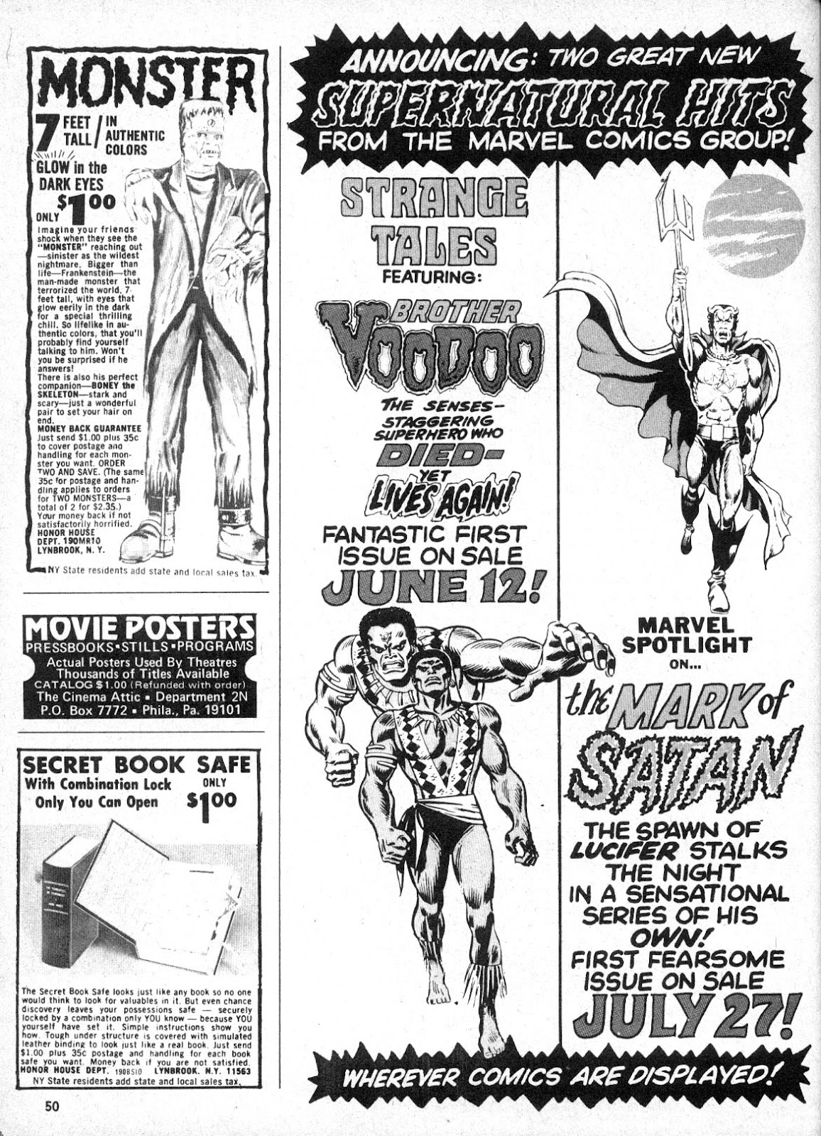 Monsters Unleashed (1973) issue 2 - Page 50