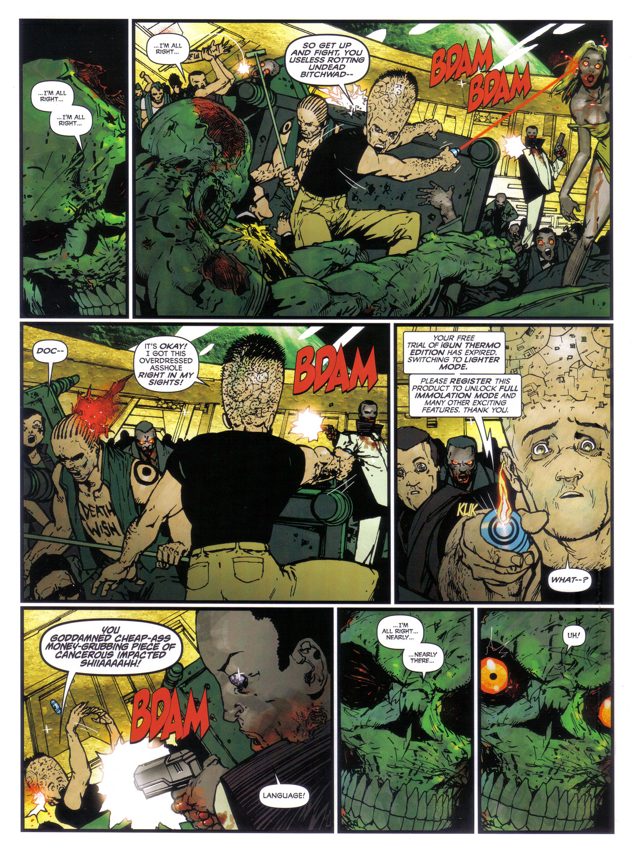 Read online 2000 AD comic -  Issue #1746 - 67