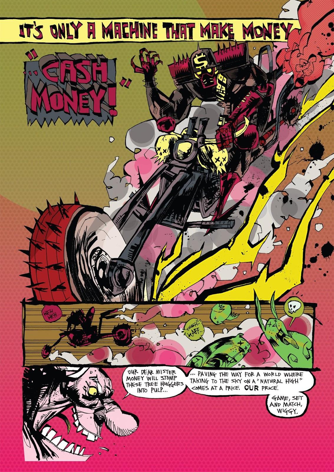 Read online Marijuanaman comic -  Issue # Full - 7