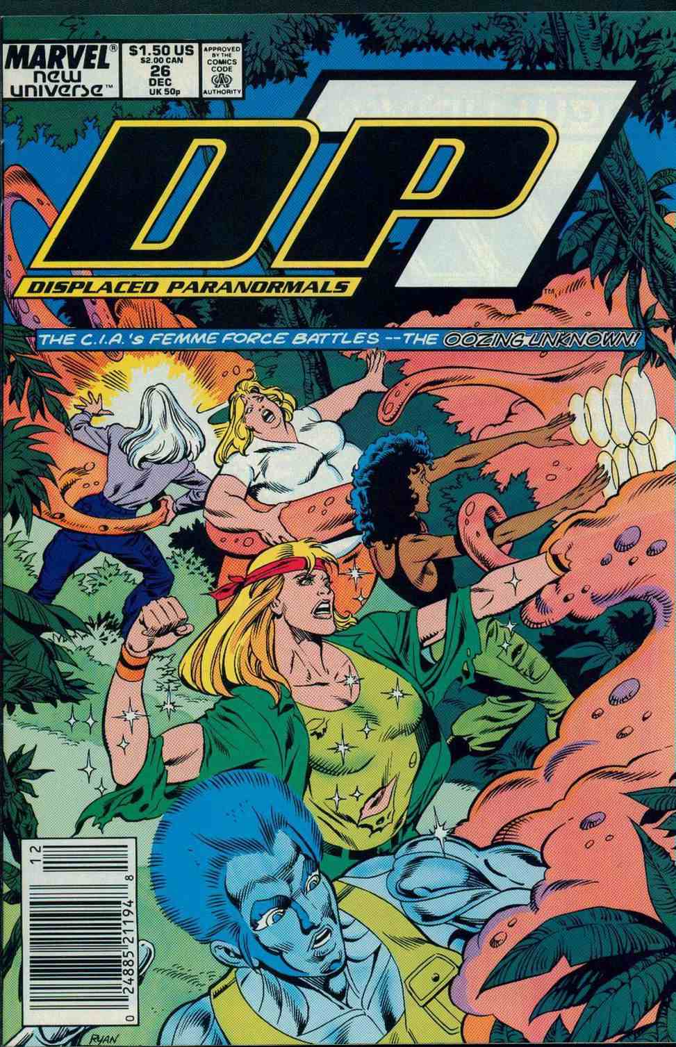 Read online DP7 comic -  Issue #26 - 1