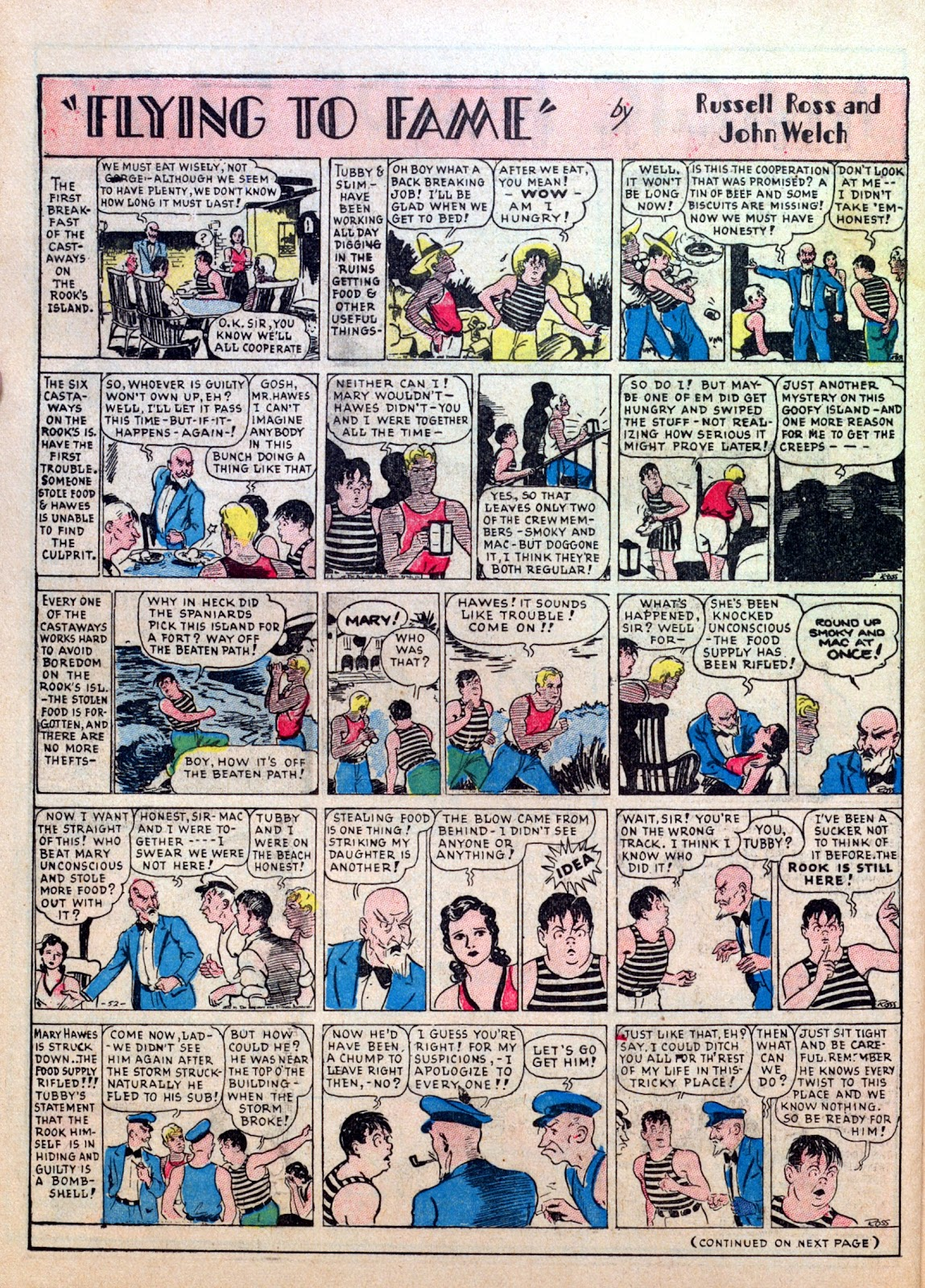 Read online Famous Funnies comic -  Issue #7 - 52