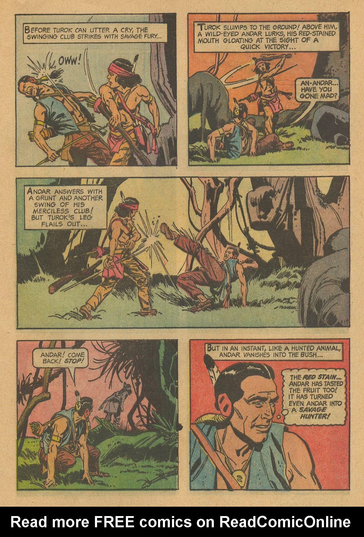 Read online Turok, Son of Stone comic -  Issue #38 - 29