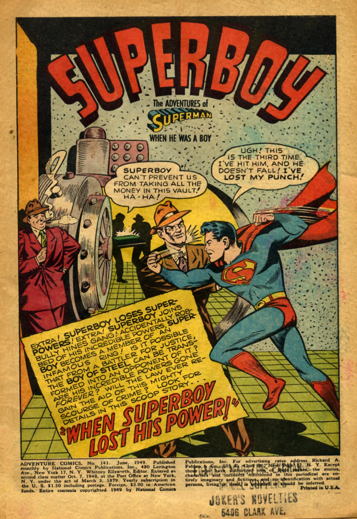 Read online Adventure Comics (1938) comic -  Issue #141 - 3