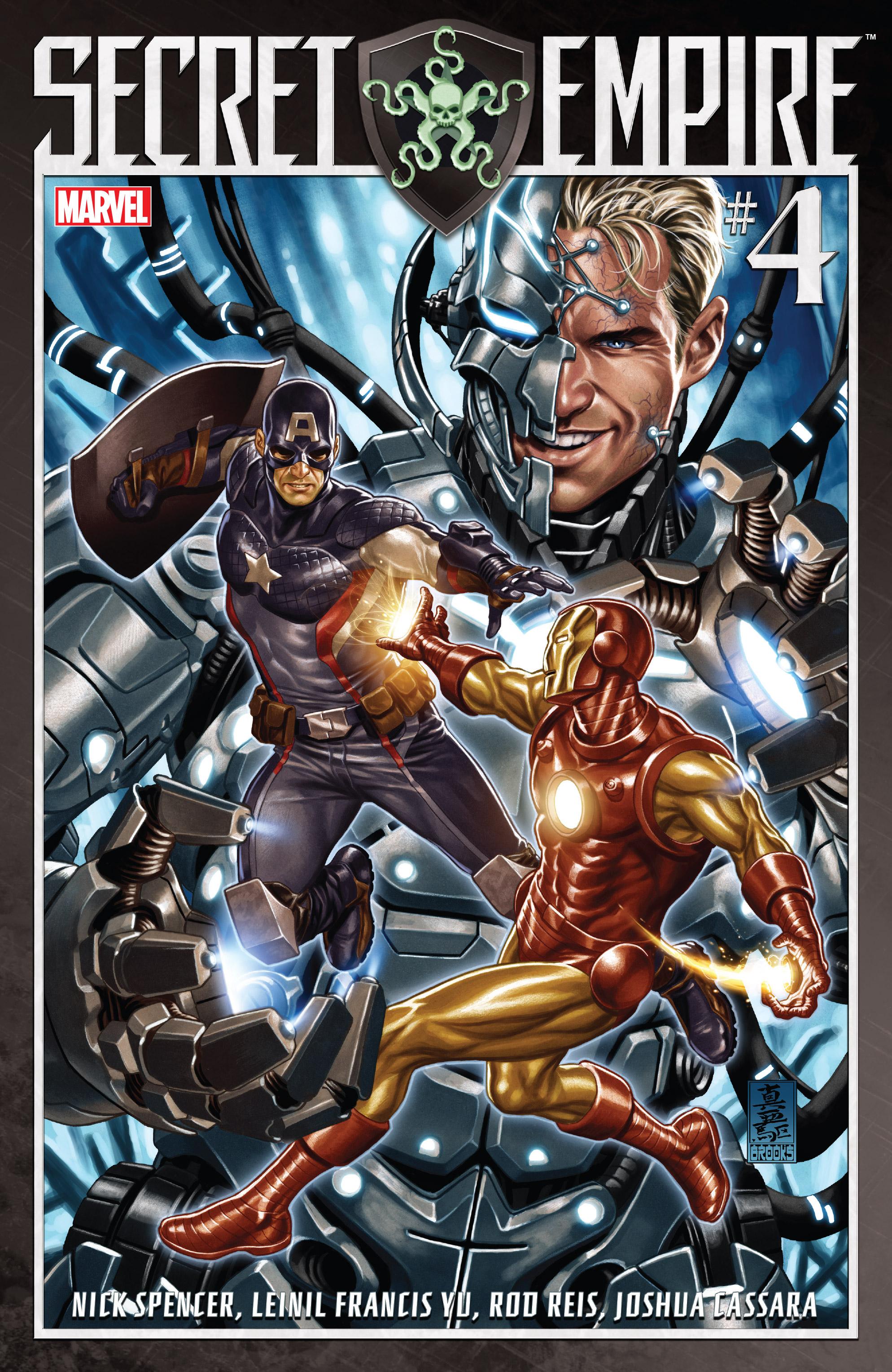 Read online Secret Empire comic -  Issue #4 - 1