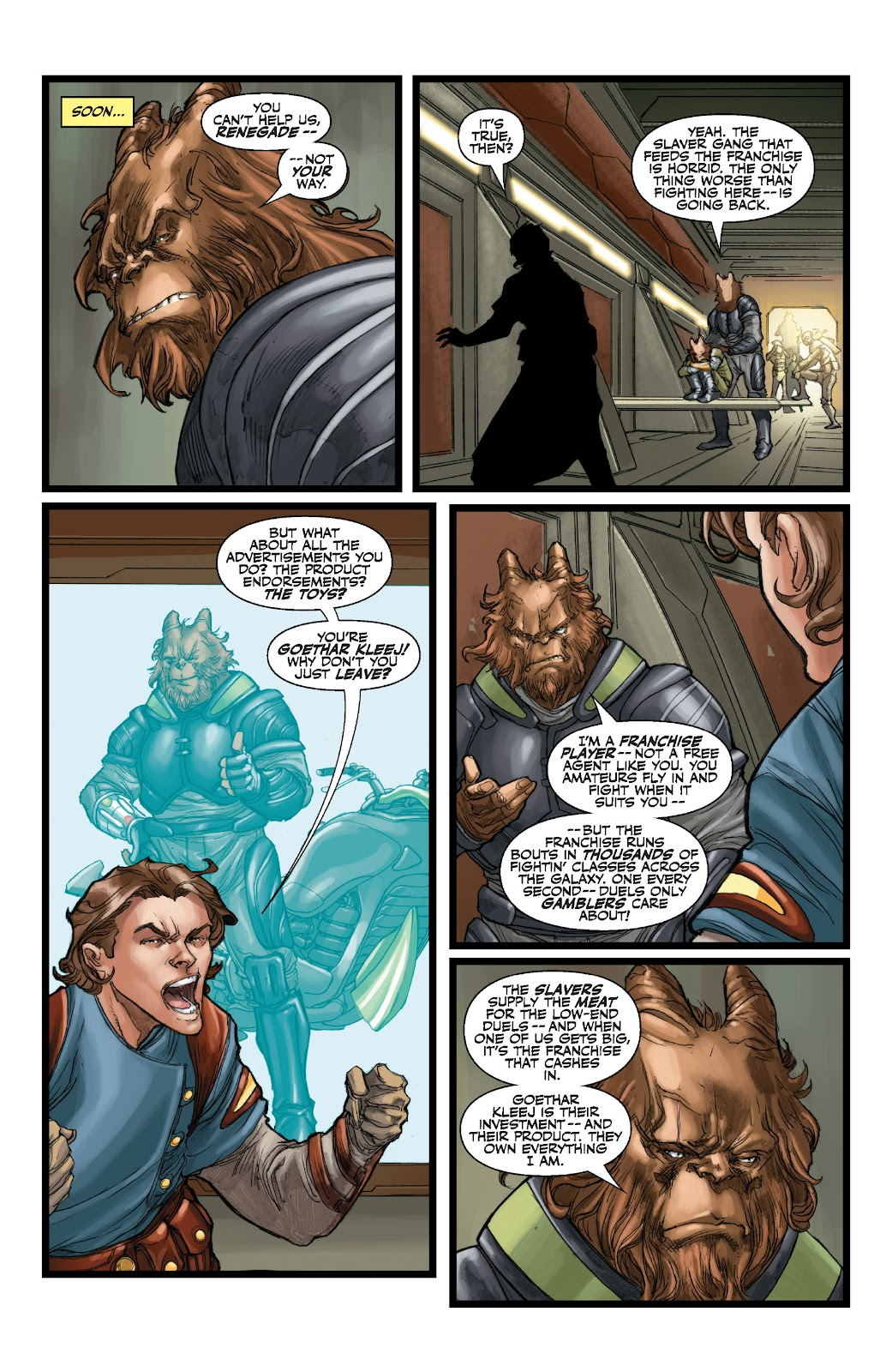 Read online Star Wars Legends: The Old Republic - Epic Collection comic -  Issue # TPB 3 (Part 1) - 69