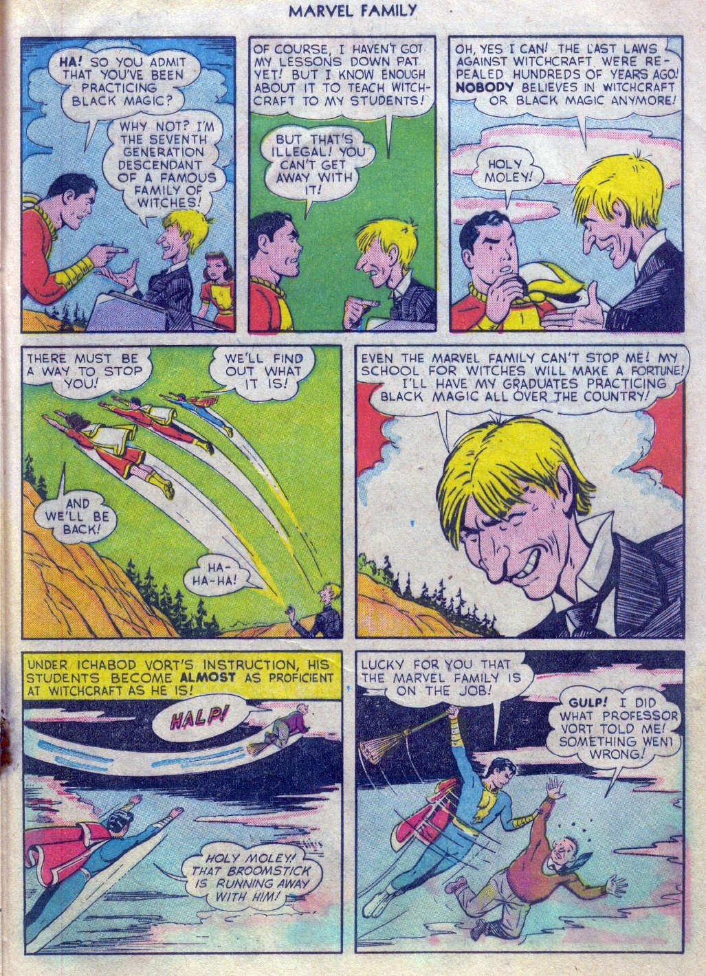 The Marvel Family issue 52 - Page 20