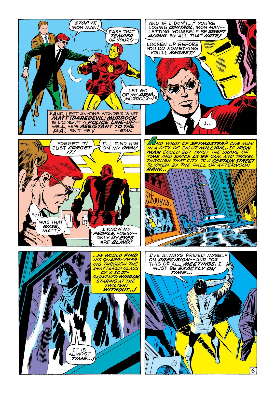 Read online Marvel Masterworks: The Invincible Iron Man comic -  Issue # TPB 7 (Part 2) - 95