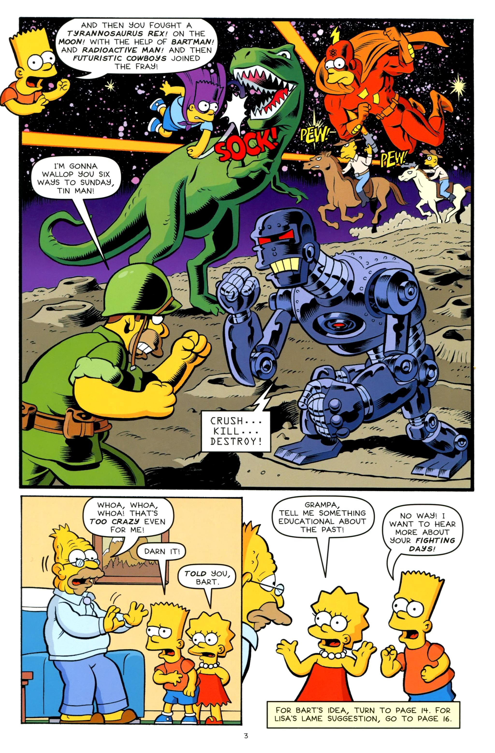 Read online Simpsons One-Shot Wonders: Grampa comic -  Issue # Full - 5