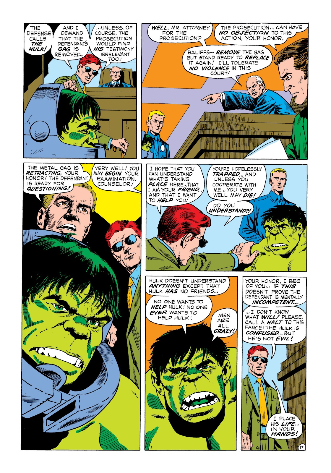 Read online Marvel Masterworks: The Incredible Hulk comic -  Issue # TPB 8 (Part 3) - 13