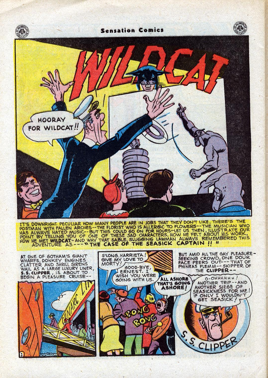 Read online Sensation (Mystery) Comics comic -  Issue #44 - 42