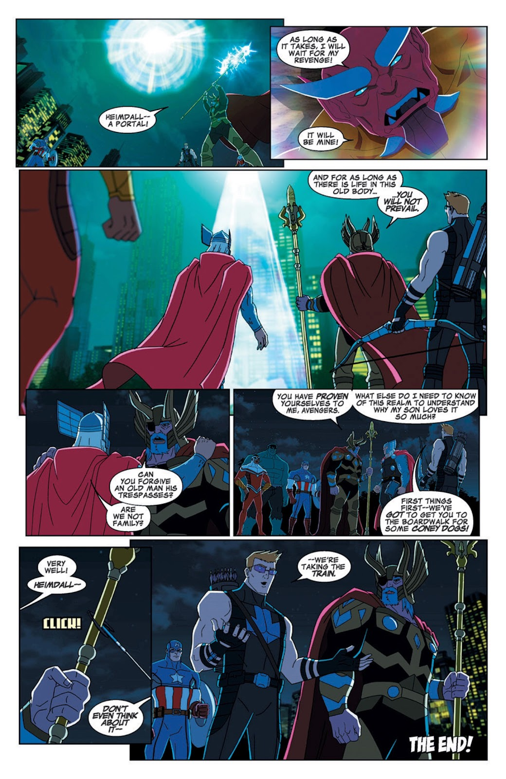 Read online Marvel Universe Avengers Assemble Season 2 comic -  Issue #7 - 29