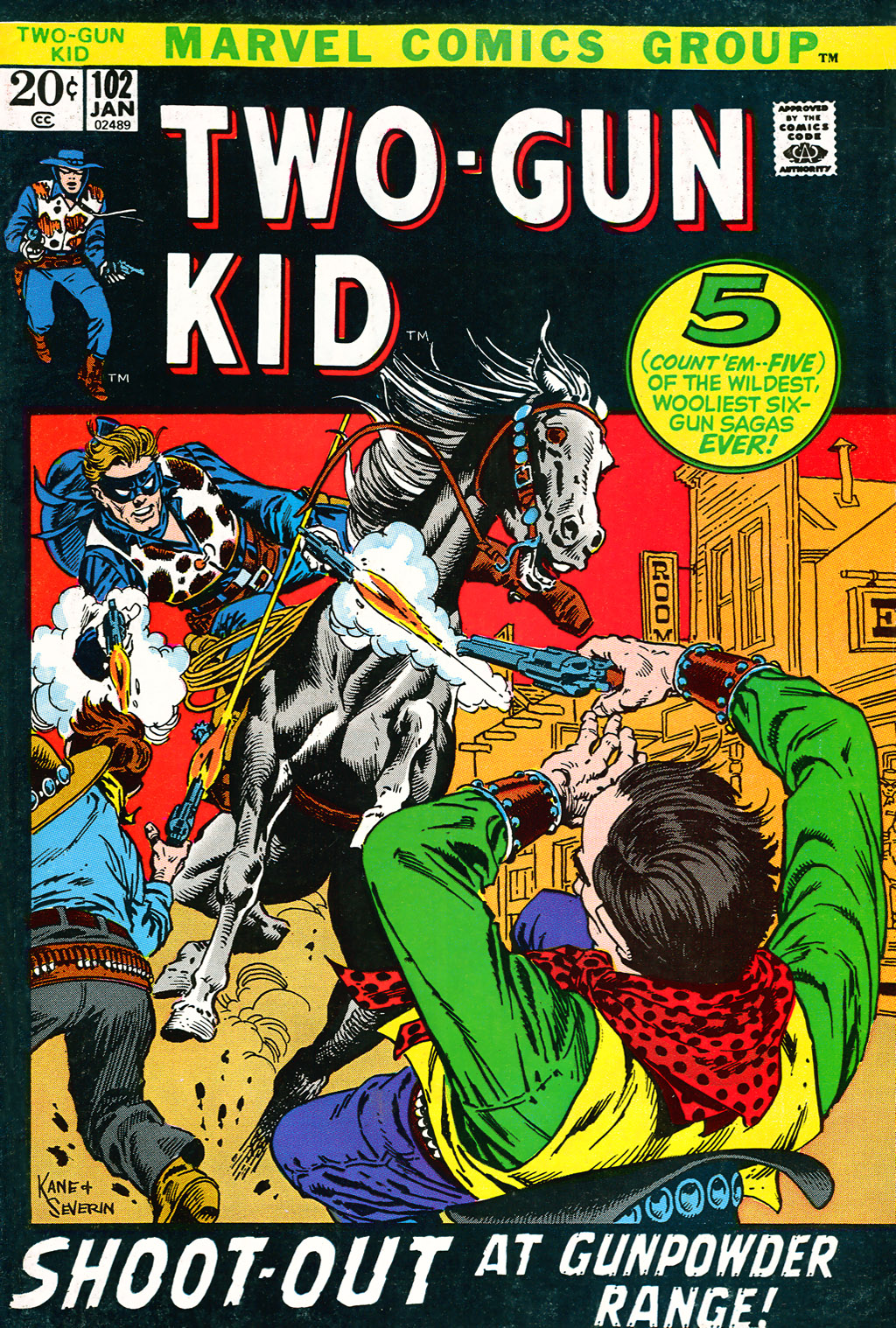 Read online Two-Gun Kid comic -  Issue #102 - 1