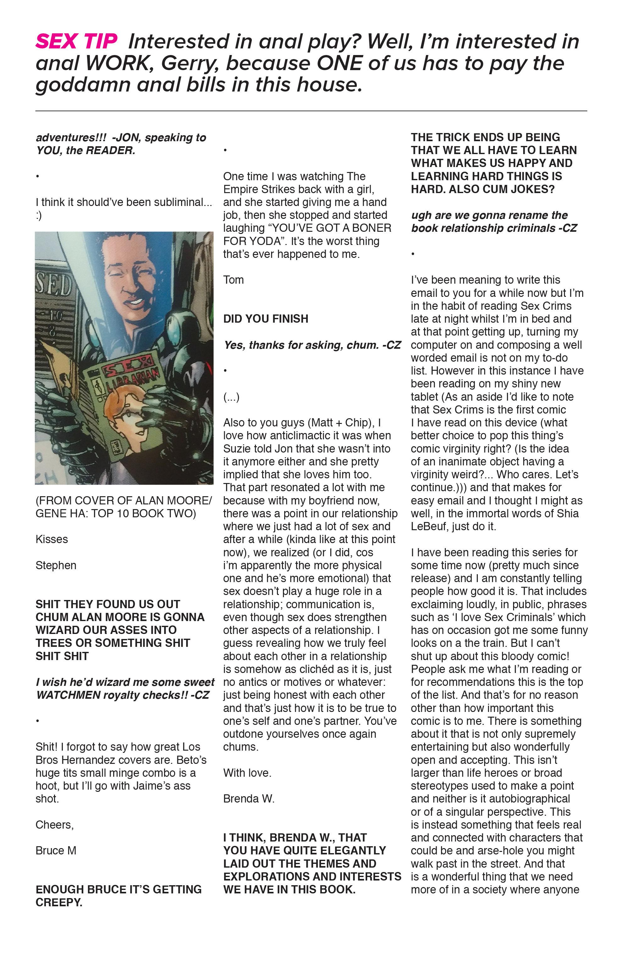 Read online Sex Criminals comic -  Issue #16 - 33