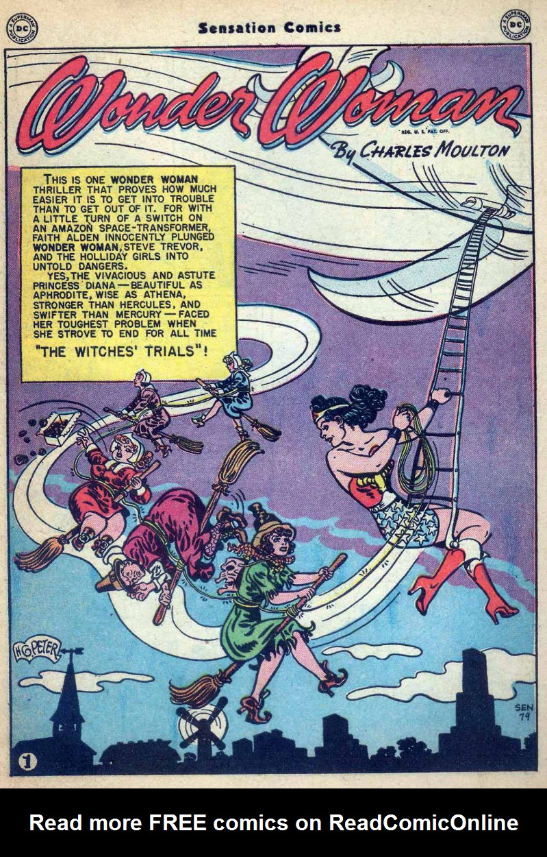 Read online Sensation (Mystery) Comics comic -  Issue #73 - 3