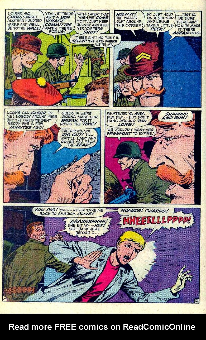 Read online Sgt. Fury comic -  Issue #64 - 18