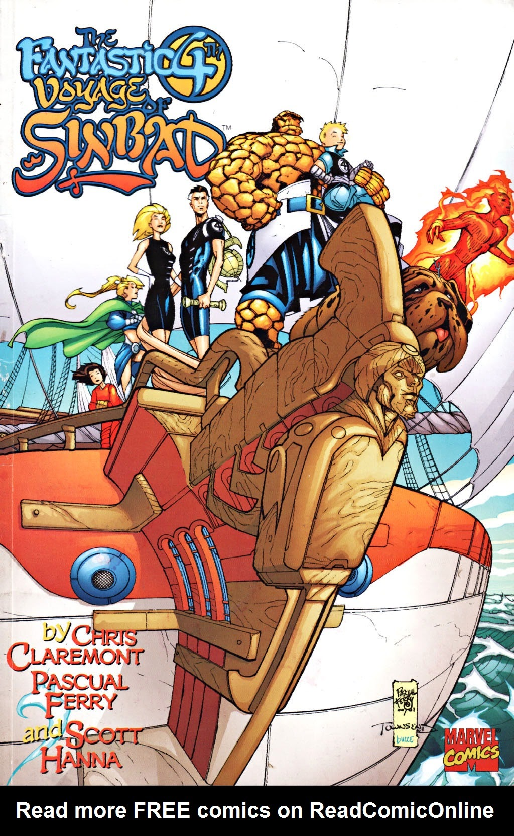 Fantastic Four: The Fantastic 4th Voyage of Sinbad Full Page 1