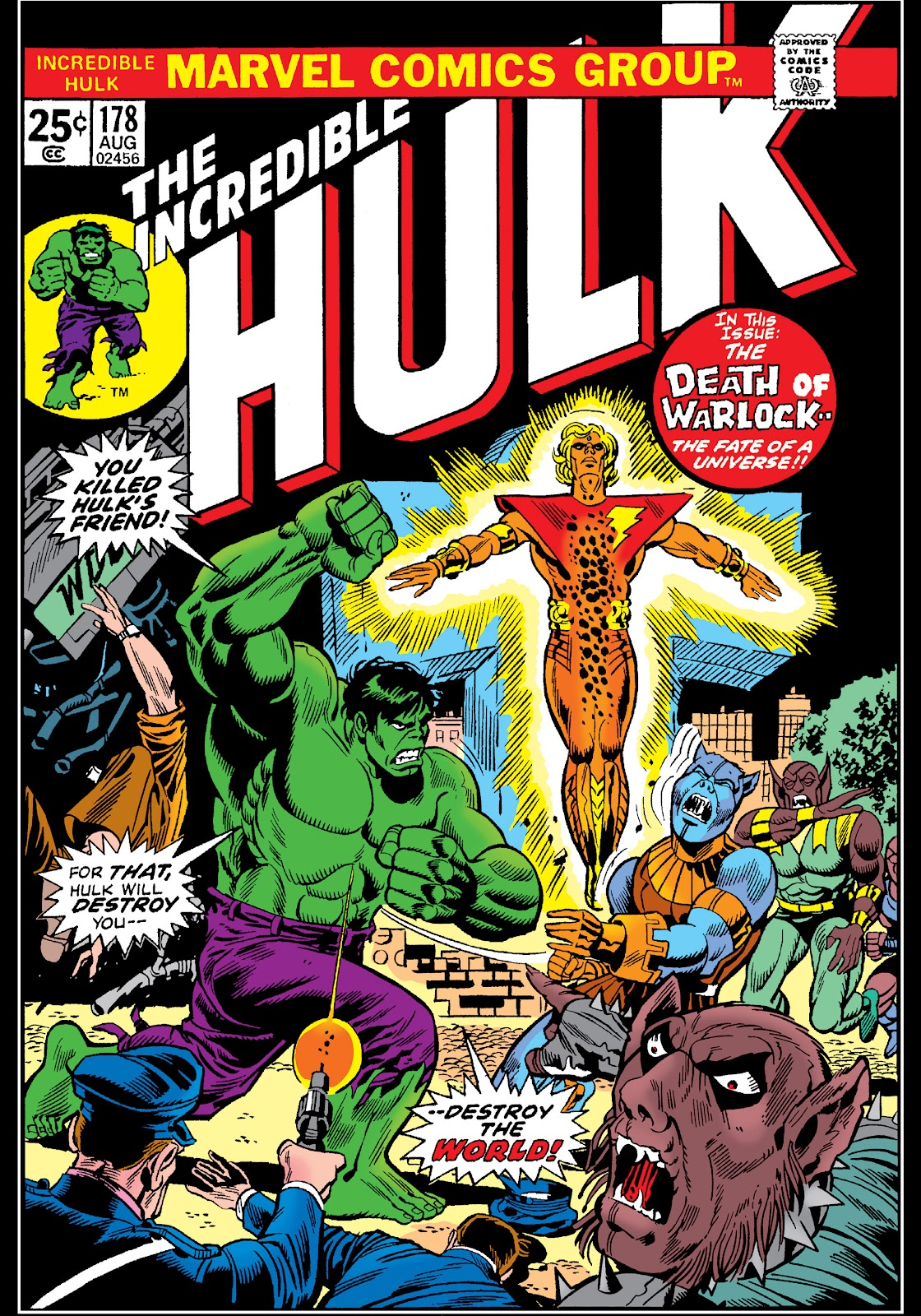 Read online Marvel Masterworks: The Incredible Hulk comic -  Issue # TPB 10 (Part 2) - 46