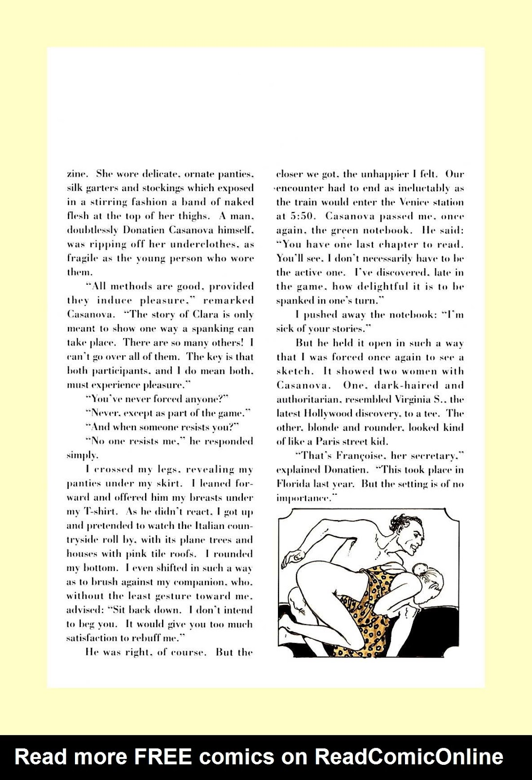Read online The Art of Spanking comic -  Issue # TPB - 71