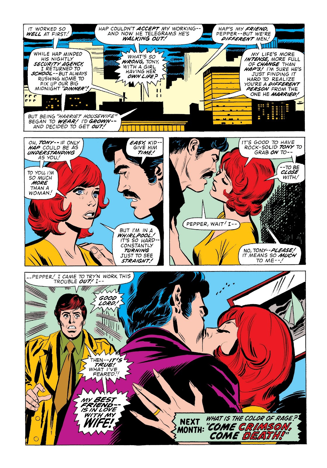 Read online Marvel Masterworks: The Invincible Iron Man comic -  Issue # TPB 9 (Part 3) - 13