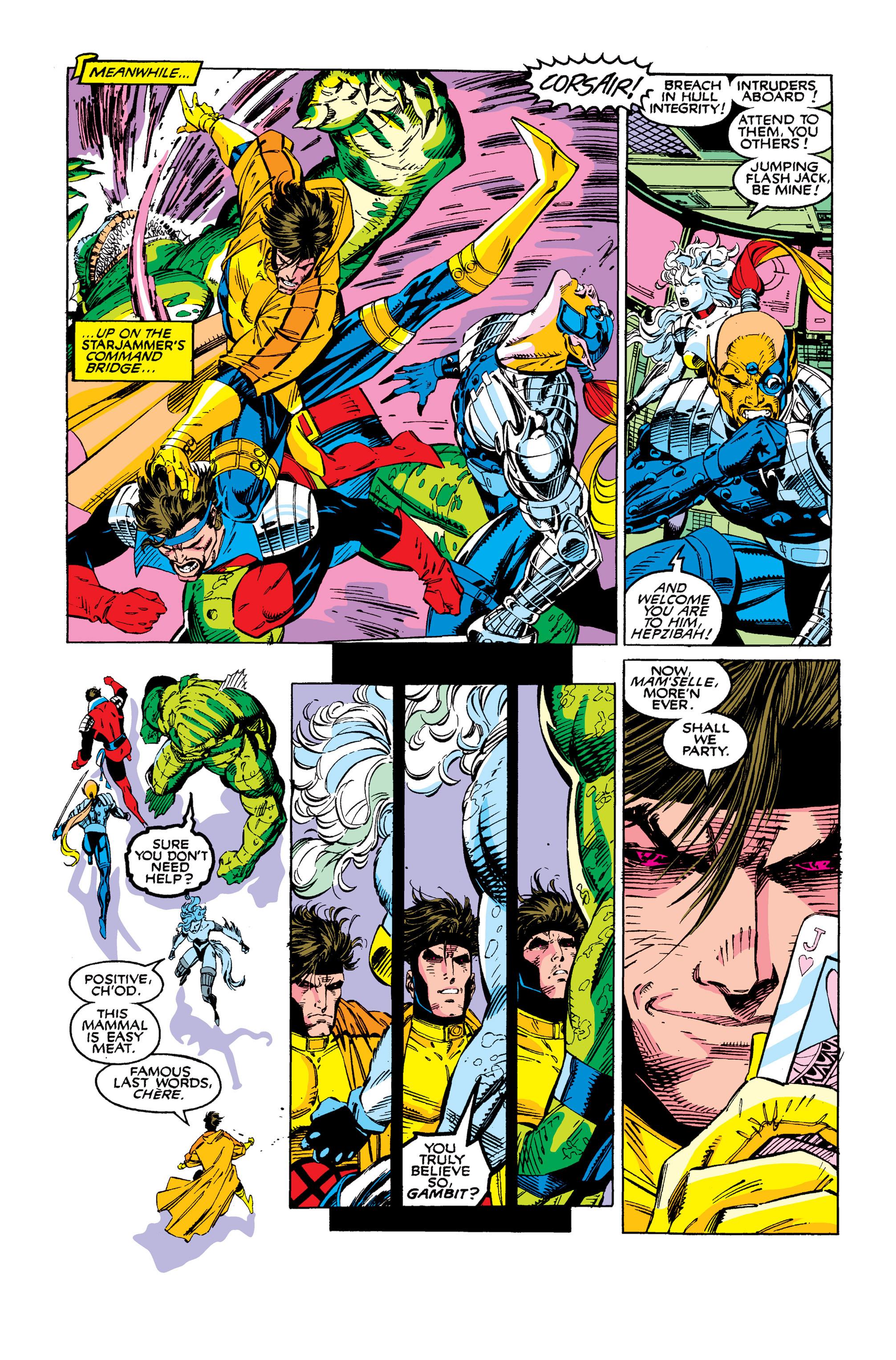 Read online Uncanny X-Men (1963) comic -  Issue #277 - 5