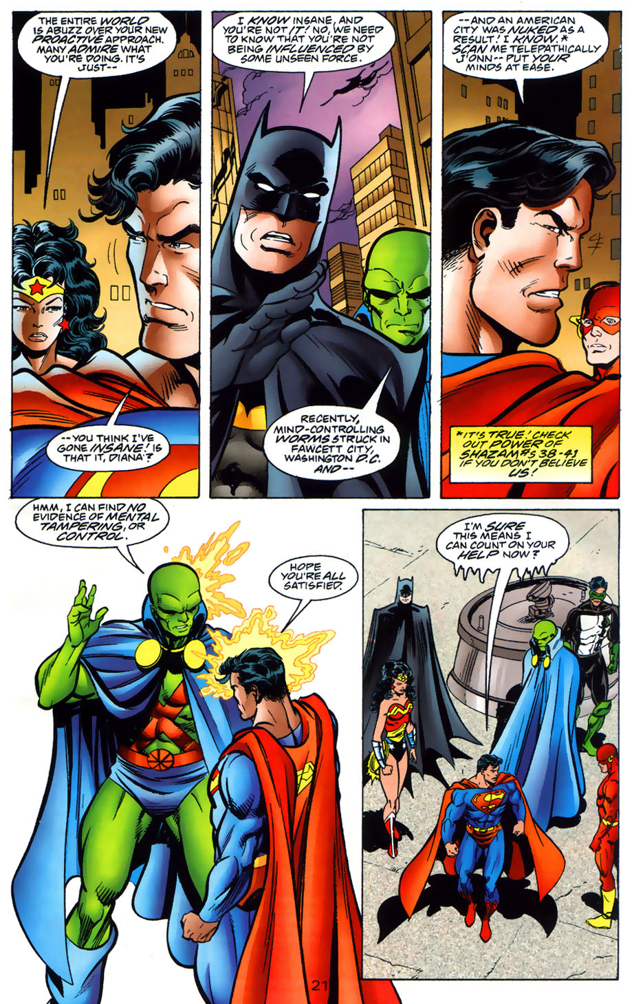 Read online Adventures of Superman (1987) comic -  Issue #565 - 22