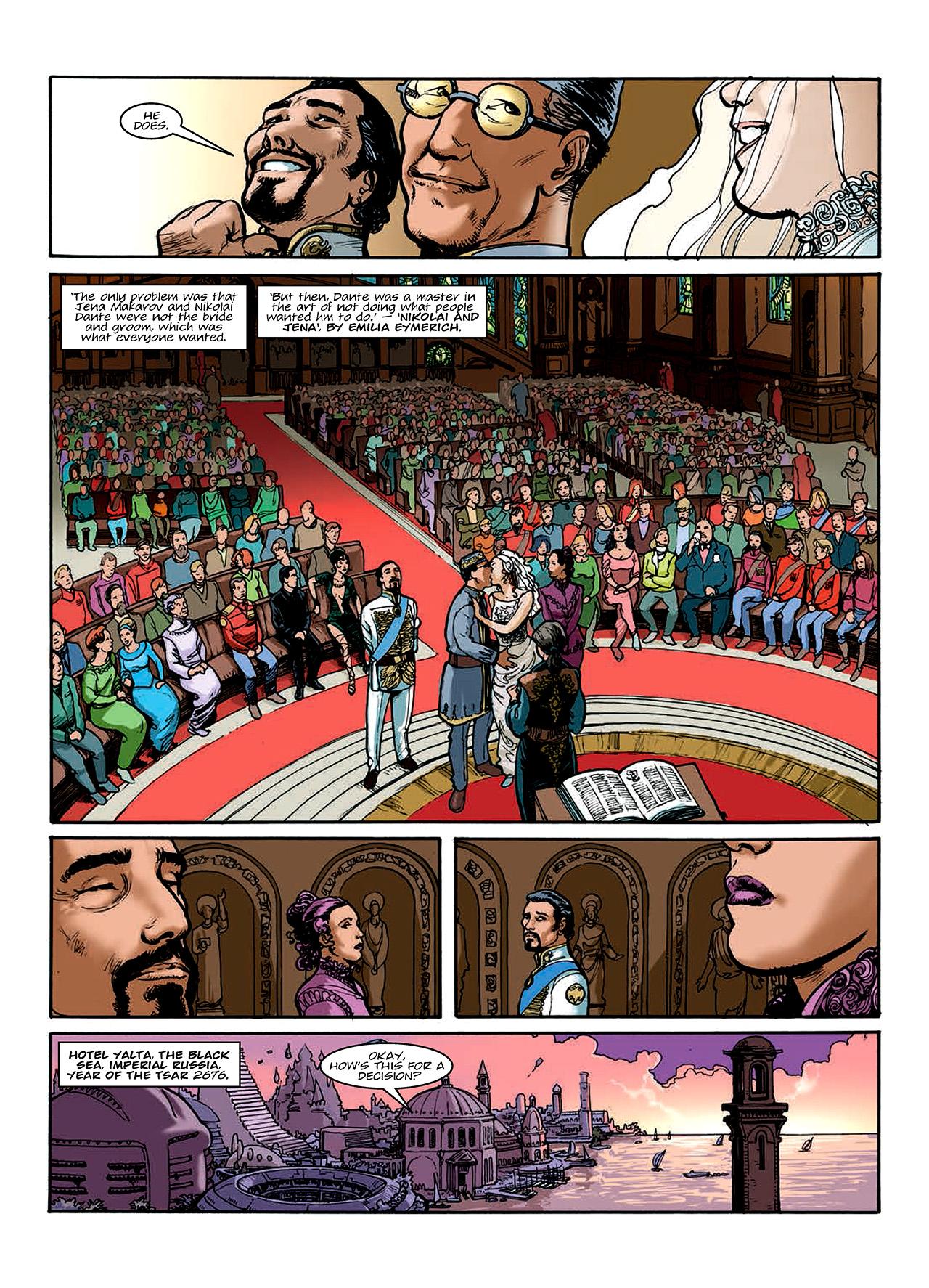 Read online Nikolai Dante comic -  Issue # TPB 10 - 80