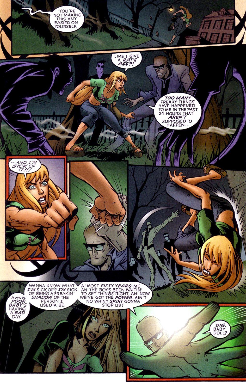 Read online Jezebelle comic -  Issue #1 - 17