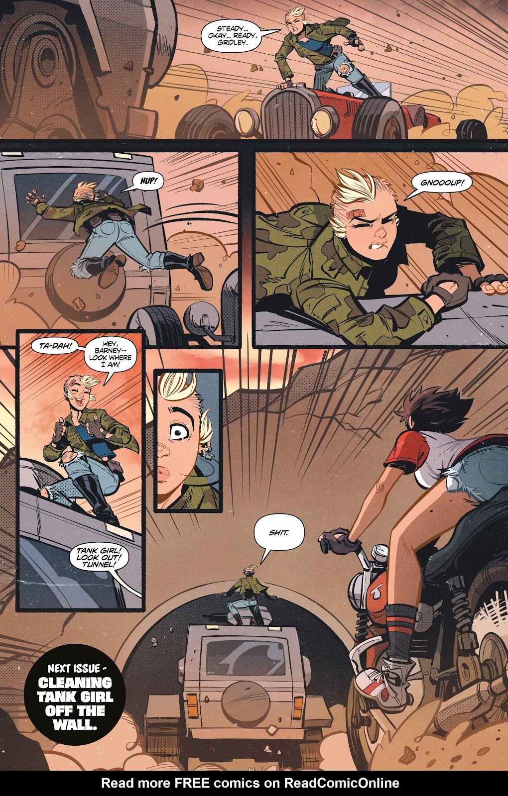 Read online Tank Girl Ongoing comic -  Issue #1 - 24