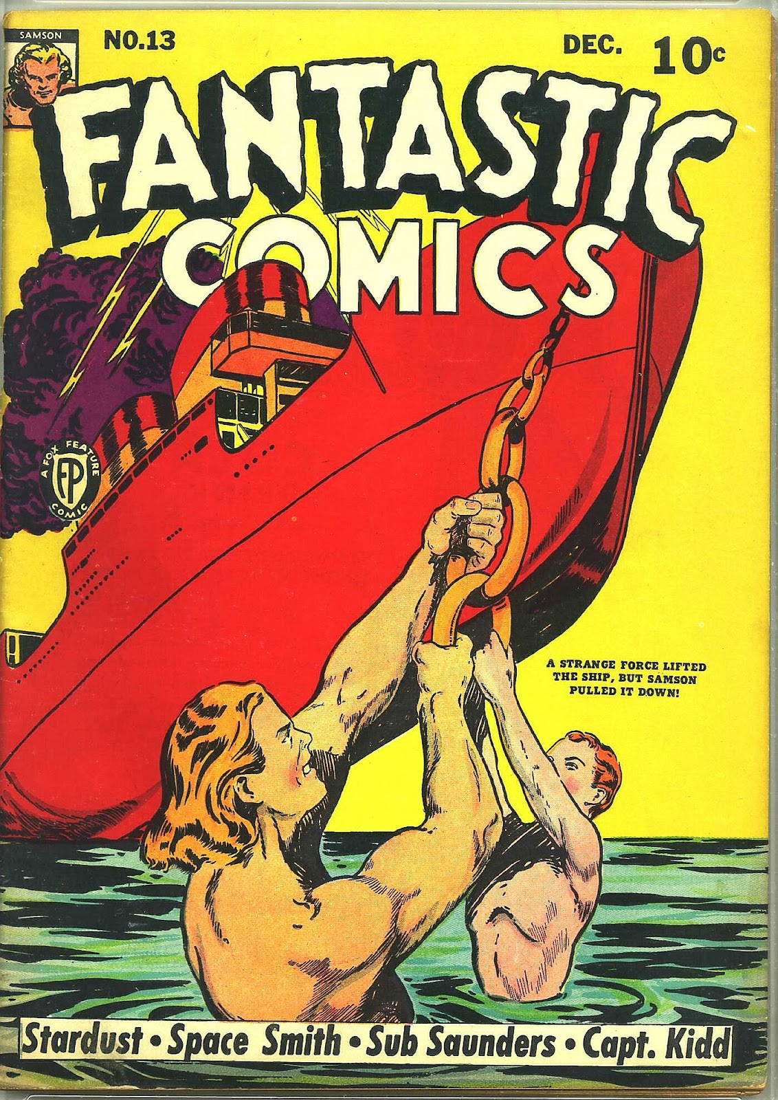 Read online Fantastic Comics comic -  Issue #13 - 2