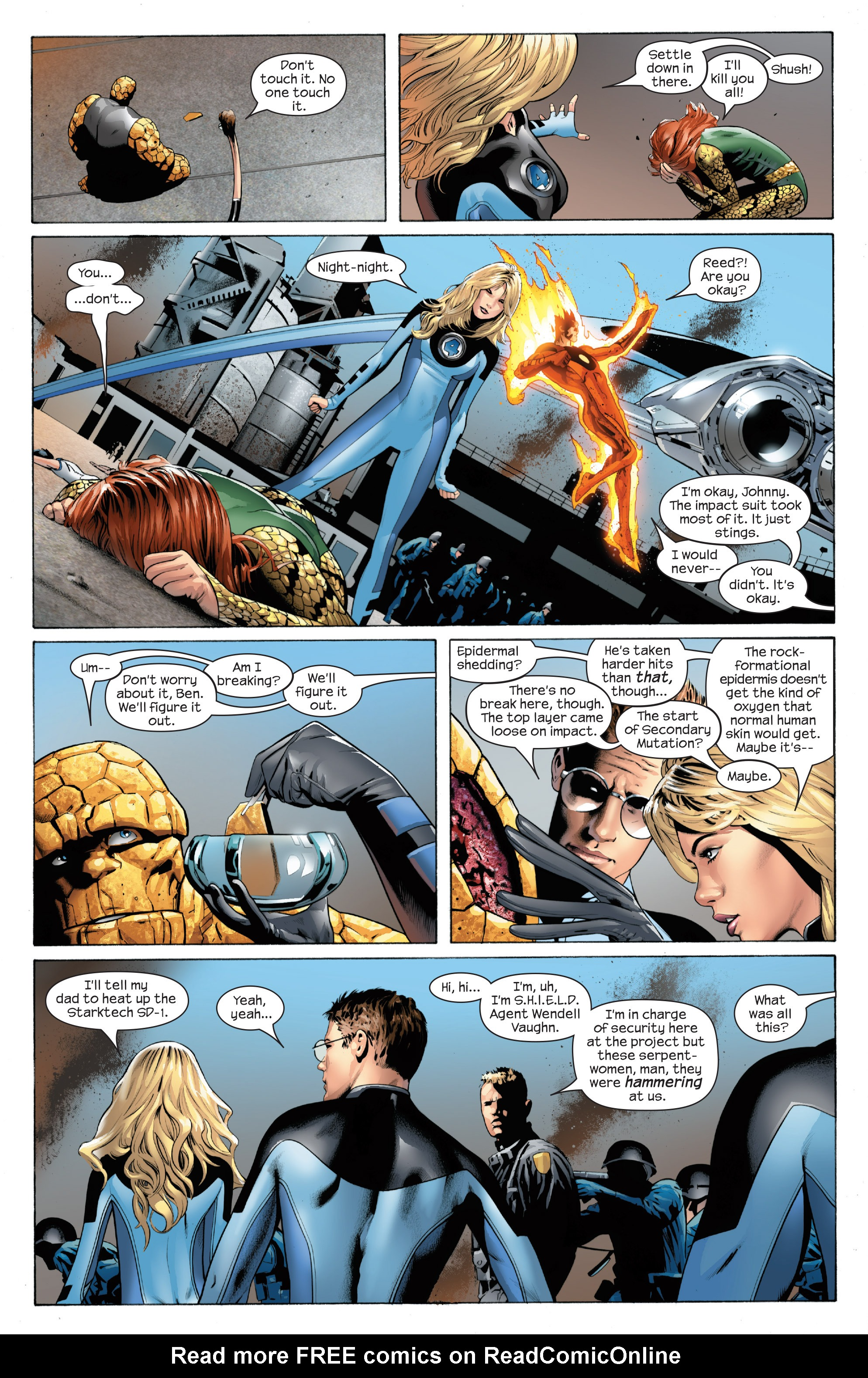 Read online Ultimate Power comic -  Issue #1 - 9