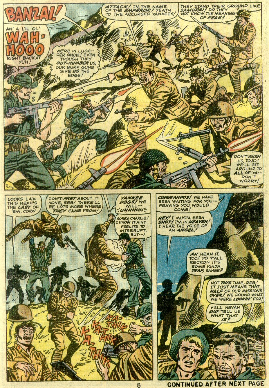 Read online Sgt. Fury comic -  Issue #125 - 5