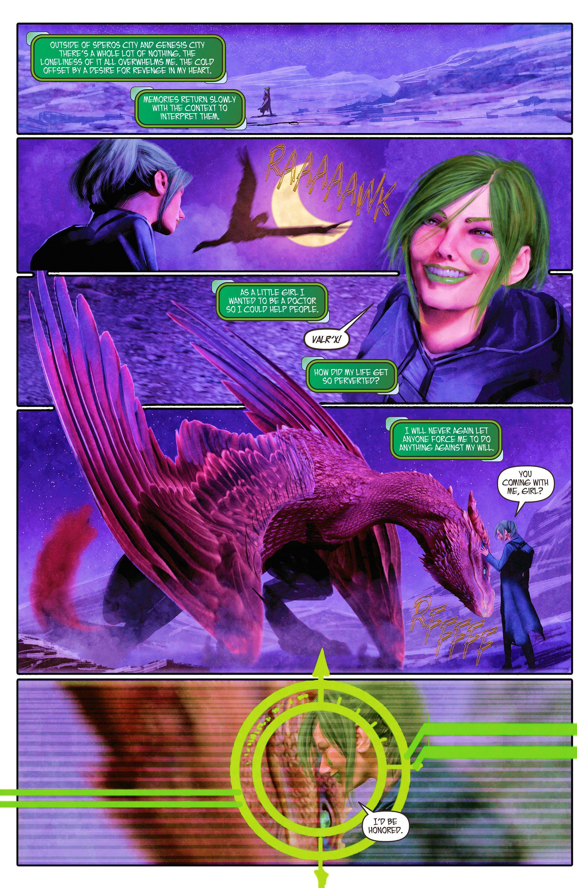 Read online Aphrodite IX (2013) comic -  Issue #5 - 21