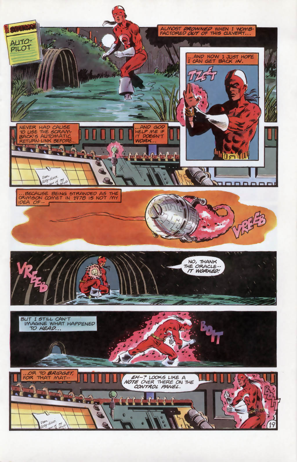 Read online Aztec Ace comic -  Issue #13 - 20