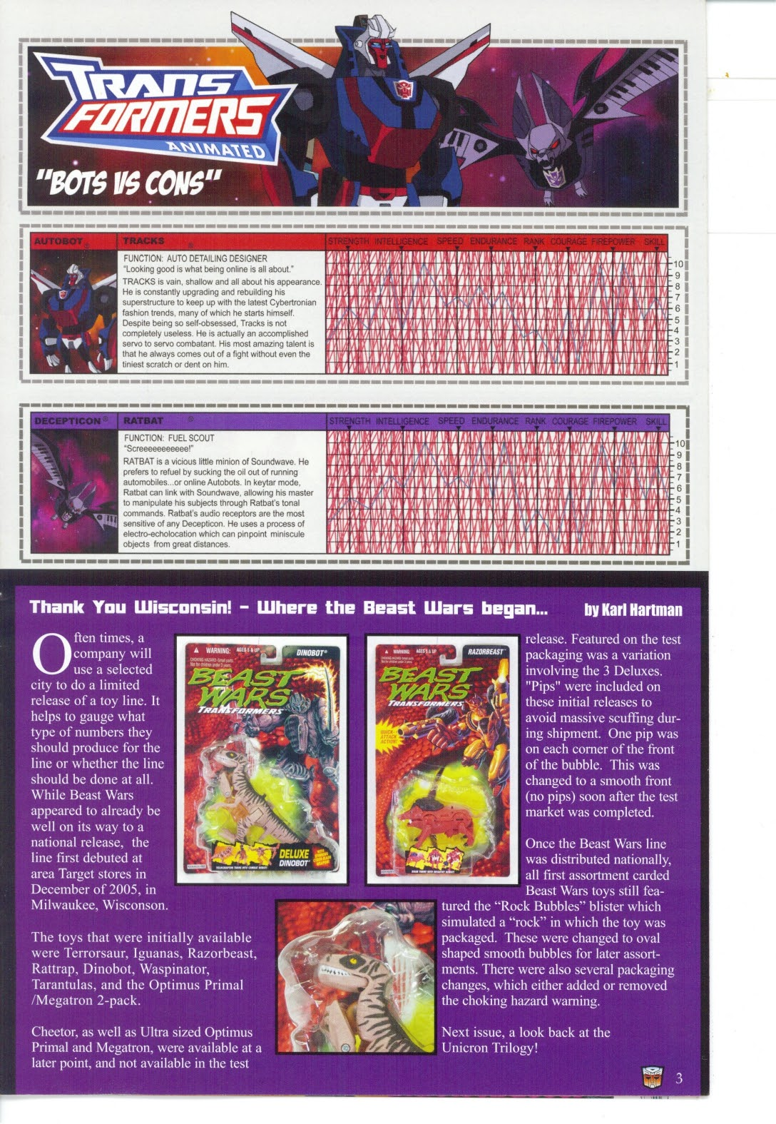 Read online Transformers: Collectors' Club comic -  Issue #27 - 3