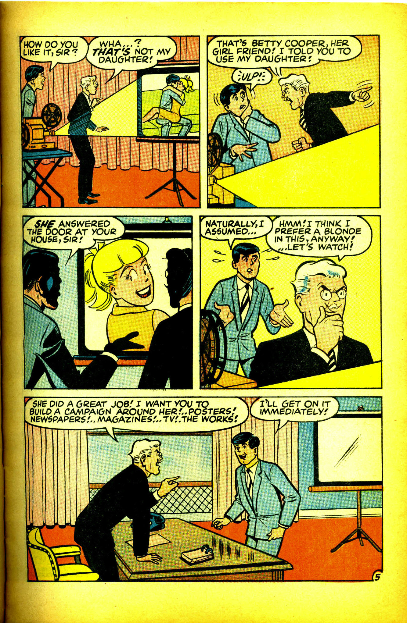 Read online Archie (1960) comic -  Issue #175 - 6
