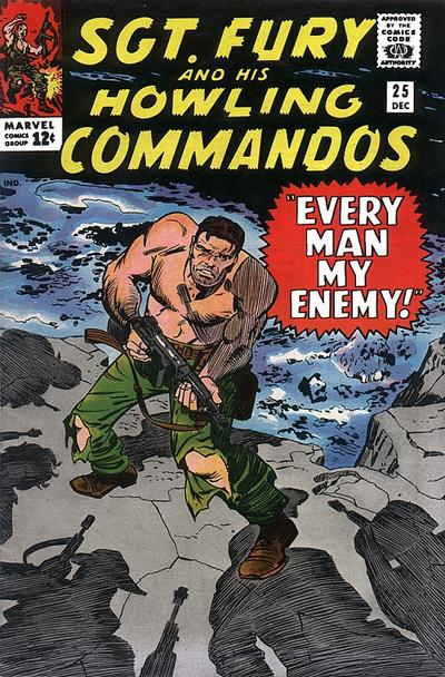 Read online Sgt. Fury comic -  Issue #25 - 1