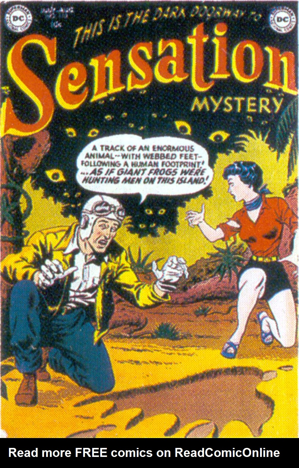 Read online Sensation (Mystery) Comics comic -  Issue #110 - 1